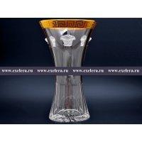 Ваза иксовка 35 см Гаргона Богемия Кристал (Bohemia Crystal)