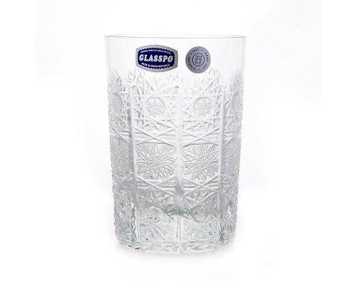 Набор стаканов для воды 280 мл Glasspo Bohemia (Богемия) (6 шт)