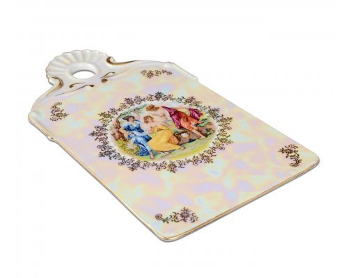 Доска для нарезки 24 см Мадонна перламутр Корона Queens Crown