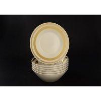 Набор салатников 19 см Falkenporzellan Cream Gold 9321 (6 шт)