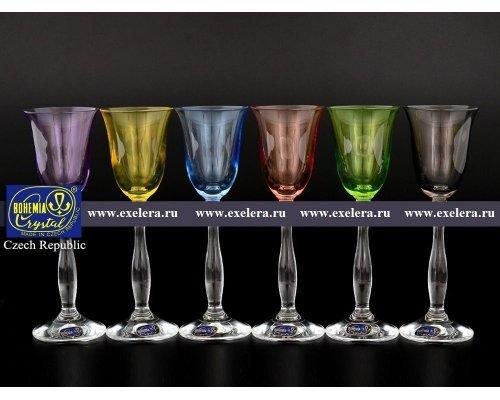 Набор рюмок для водки 60 мл Богемия Кристал (Bohemia Crystal) (6 шт)