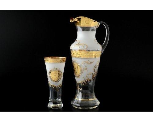 Набор для воды иксовка 7 предметов Богемия B-G фон Богемия Кристал (Bohemia Crystal)