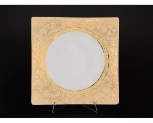 Набор тарелок 27 см Falkenporzellan Tosca Creme Gold (6 шт)