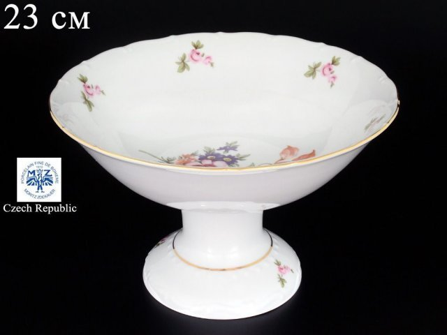 Фруктовница 23 см Офелия Полевой цветок Старорольский Фарфор (MZ)