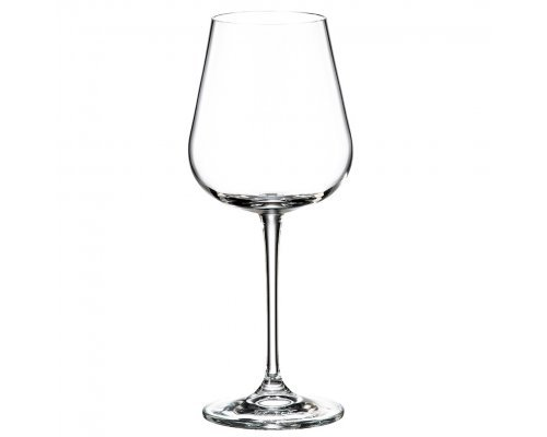 Набор бокалов для вина 450 мл Amundsen Crystalite Bohemia (6 шт)