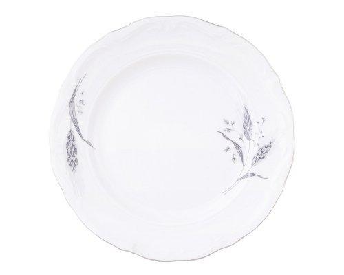Набор плоских тарелок 19 см Серебряные колосья Repast (6 шт)