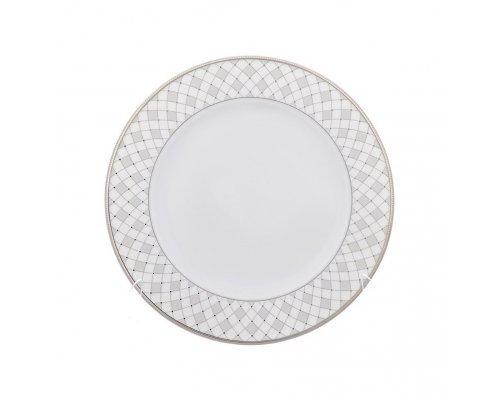Набор плоских тарелок Серебряная сетка Repast 19 см (6 шт)