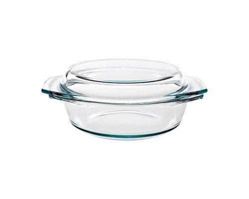 Блюдо для запекания стеклянное с крышкой 1000 мл Симакс (Simax) S-X