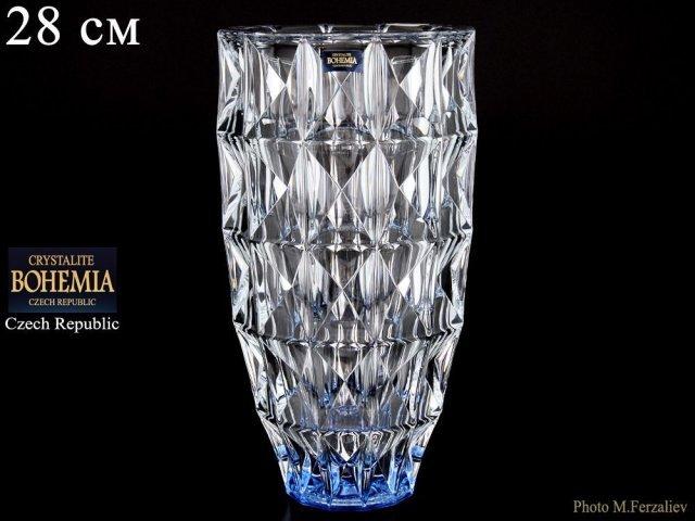 Ваза 28 см Diamond Кристалайт (Kristalayt)