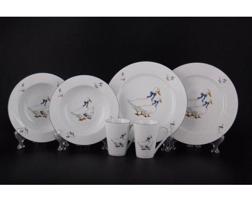 Подарочный набор 6 предметов Гуси Тхун (Thun)