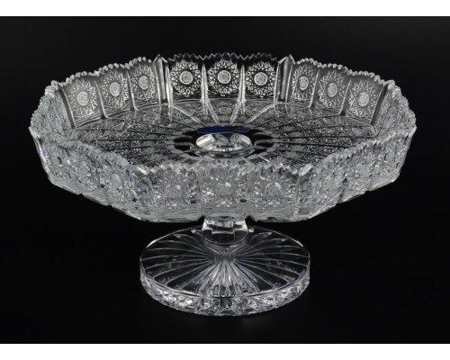 Фруктовница 30 см Glasspo Bohemia (Богемия)