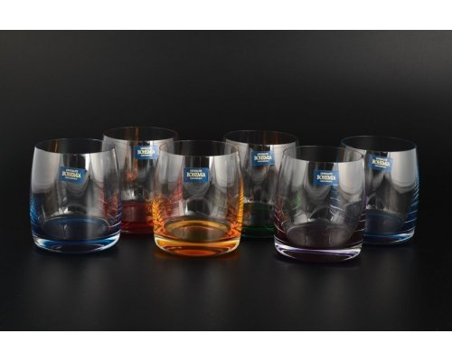 Набор стаканов для виски 290 мл Идеал Арлекино Богемия Кристал (Bohemia Crystal) (6 шт)