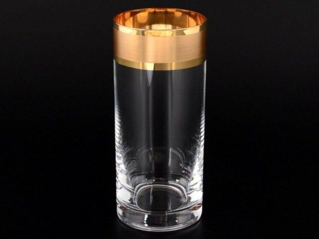 Набор стаканов для воды 300 мл Матовый А-М Богемия Кристал (Bohemia Crystal) (6 шт)