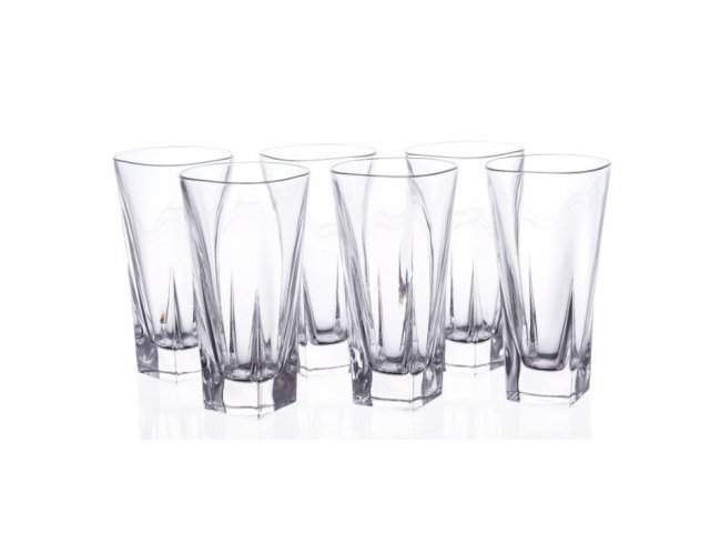 Набор стаканов для воды 380 мл Fusion trends RCR Cristalleria Italiana