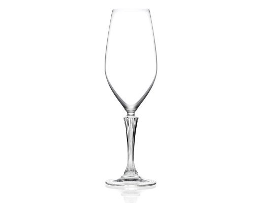 Набор фужеров 6 шт для шампанского 440 мл Glamour luxion professional RCR Cristalleria Italiana