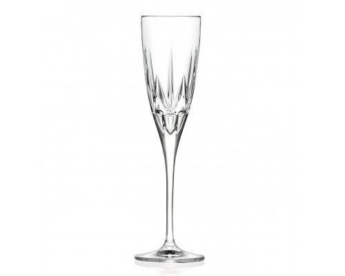 Набор фужеров 6 шт для шампанского 150 мл Chic RCR Cristalleria Italiana