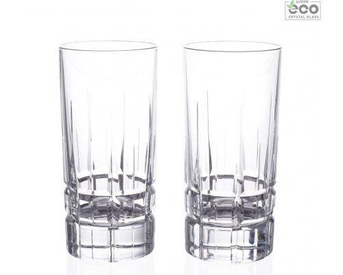 Набор стаканов 2 шт для воды 360 мл Carrara RCR Cristalleria Italiana