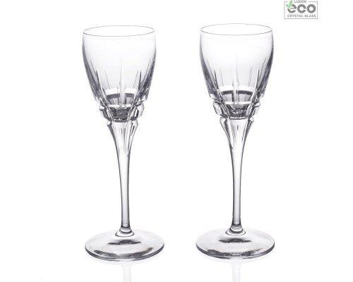 Набор рюмок 2 шт для водки 80 мл Carrara RCR Cristalleria Italiana