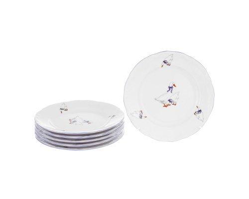 Набор плоских тарелок Repast 19 см Гуси Repast
