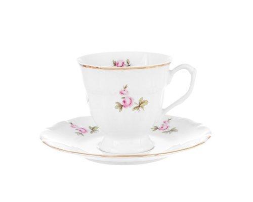 Набор чайных пар Repast Мейсенский букет (6 шт) 200 мл