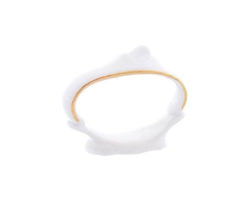 Кольцо для салфеток 6,5 см Бернадотт Белый узор
