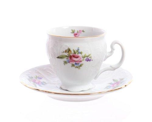 Набор кофейных пар 170 мл Бернадотт Полевой цветок (6 пар)