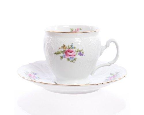 Набор чайных пар бочка Полевой цветок Bernadotte 240 мл 6 штук