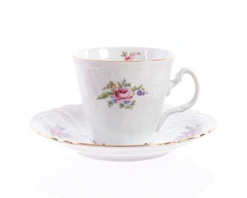 Набор чайных пар ведерка Полевой цветок Bernadotte 200 мл 6 штук