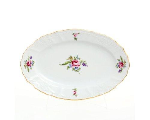 Блюдо овальное 26 см Бернадотт Полевой цветок