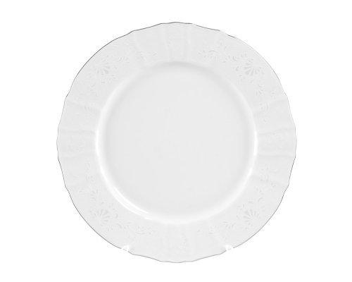 Блюдо круглое 30 см Бернадотт Платиновый узор