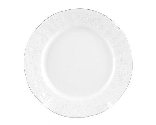 Набор тарелок 17 см Бернадотт Платиновый узор (6 шт)