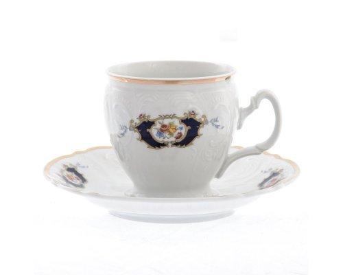 Набор чайных пар бочка Синий глаз Bernadotte 240 мл (6 пар)
