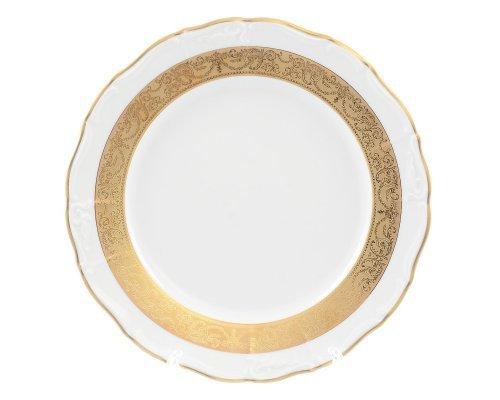 Блюдо круглое 30 см Мария Луиза Матовая полоса Карлсбад (Carlsbad)