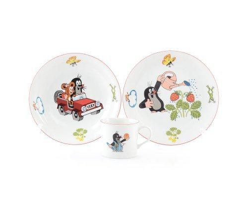 Детский набор посуды Крот с лейкой Thun 3 предмета