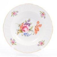 Набор тарелок глубоких 23 см Бернадотт Полевой цветок (6 шт)