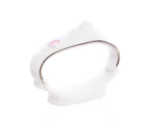 Кольцо для салфеток 6,5 см Бернадотт Серая роза платина