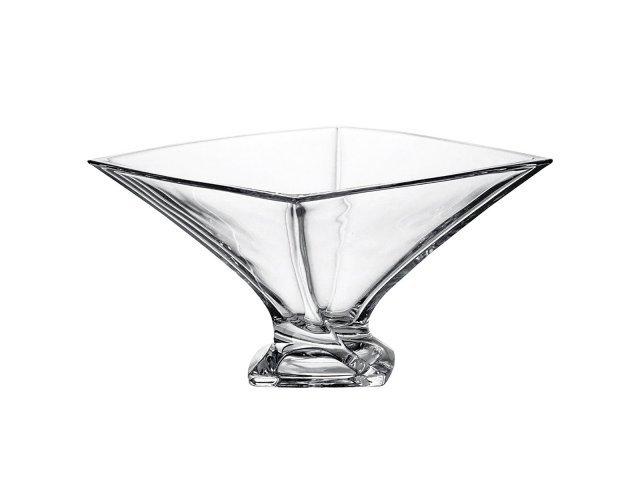 Фруктовница 32 см Quadro Богемия Кристал (Bohemia Crystal)