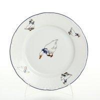 Набор тарелок 17 см Тхун (Thun) Констанция Гуси (6 шт)