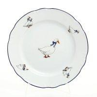 Набор тарелок 19 см Тхун (Thun) Констанция Гуси (6 шт)