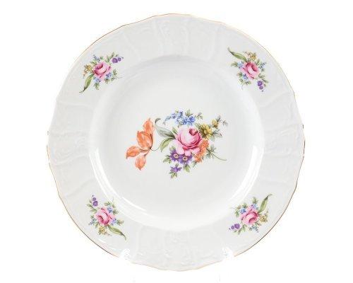 Блюдо круглое глубокое 32 см Бернадотт Полевой цветок