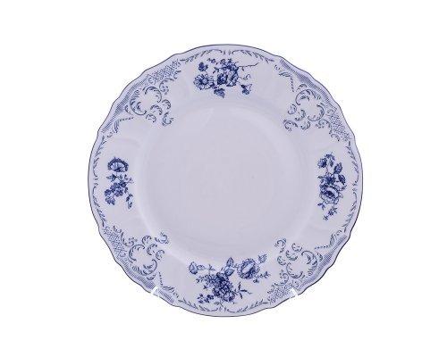Блюдо круглое 32 см Бернадотт Синие розы