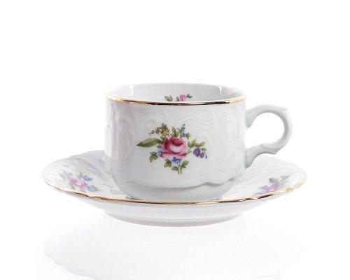 Набор чайных пар Полевой цветок Bernadotte 250 мл (6 пар)