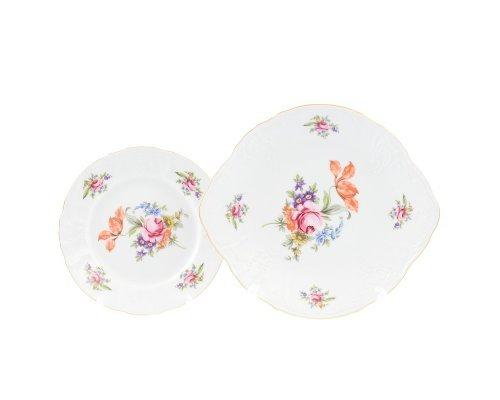 Набор для торта 7 предметов Бернадотт Полевой цветок