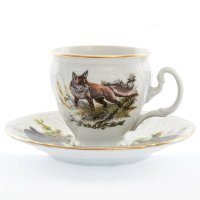 Набор кофейных пар бочка Охота Bernadotte 170 мл (6 шт)