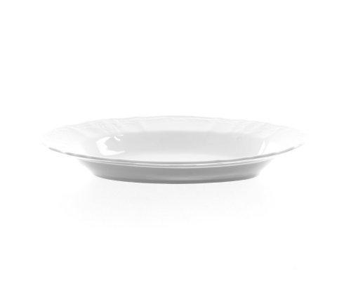 Блюдо овальное 24 см Бернадотт 0000 Недекорированный