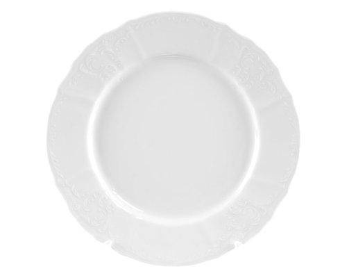 Набор тарелок 25 см Бернадотт 0000 Недекорированный (6 шт)