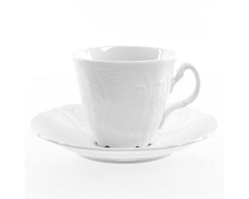 Набор чайных пар ведерка Bernadotte 0000 Недекорированный 200 мл (6 пар)