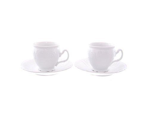 Набор чайных пар бочка 240 мл Бернадотт 0000 Недекорированный (6 пар)