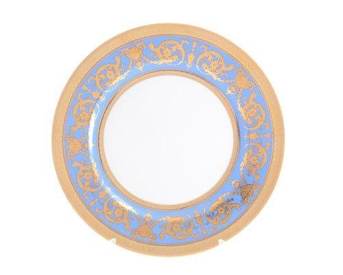 Набор тарелок 27 см Falkenporzellan Imperial Blue Gold (6 шт)