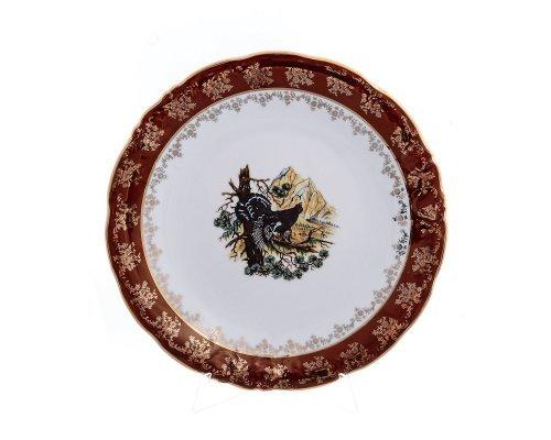 Блюдо круглое 30 см Фредерика Охота Красная Карлсбад (Carlsbad)
